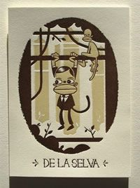 Nathan Stapley-AS Print #7 Human Monkey