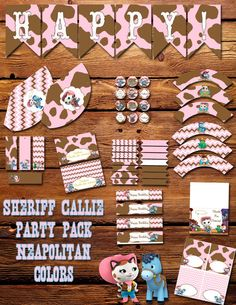 Sheriff Callie's Wild West Birthday by SweetHooplaCreations