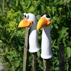 Bildergebnis für vögel aus ton für den garten