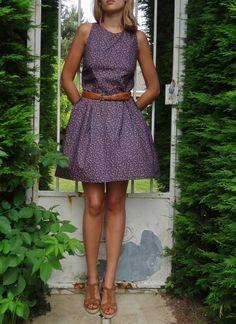 La chronique d'Aurélie //35// Sonja Dress version Liberty | Lagouagouache