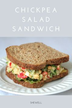 Simple, delicious, sandwich you can make in under 10 minutes! #vegan #vegetarian #shewell