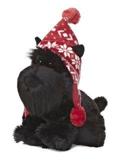 """11"""" Aurora Plush Scottish Terrier Puppy Dog Wuff & Friends Stuffed Animal Toy #Aurora"""