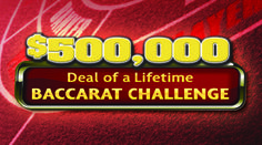 """Share this with your friends and earn B Connected Social Points to enter valuable prize giveaways. Here's you chance to win $500,000!   Win a minimum of $500     June 1 - 28, 2014   Receive 1 entry for every $5 minimum bet for 1 hour of Table Play 10 winners drawn on Saturday, June 28 at 8:00pm     - Three (3) Consecutive Natural """"9""""s wins $500,000  - Two (2) Consecutive Natural """"9""""s wins $5,000"""