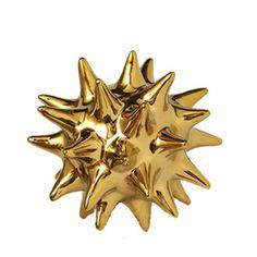 Gold Urchin Object