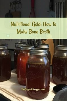 The difference between stock and broth are the ingredients, but it's no harder to make stock than broth. And, bone broth contains extra nutrients. Beet Soup, Soup And Salad, Baked Yellow Squash, How To Make Beets, Making Bone Broth, Canning Food Preservation, Usda Food, Whole Food Recipes, Simple Recipes