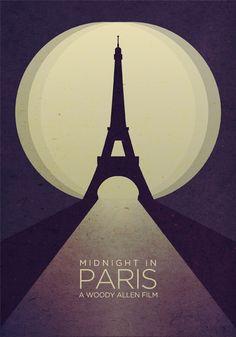 Midnight in Paris - Woody Allen | #movieposter