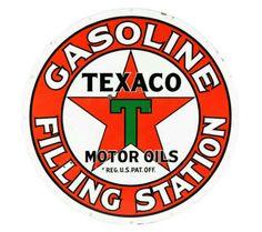 Vintage Signs, Vintage Cars, Vintage Photos, Tin Signs, Metal Signs, American Logo, Filling Station, Porcelain Signs, Garage Art