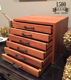 Apothecary Cabinet Photography Chest Map Chest Drawing by Furniture Wax, Reclaimed Furniture, Woodworking Furniture, Woodworking Projects, Building Furniture, Furniture Design, Wood Storage Cabinets, Diy Cabinets, Printer Cabinet