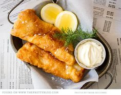 Beer Battered Hake {Recipe} | The Pretty Blog