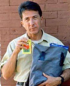 Dustin Hoffman as Raymond Babbit in Rainman