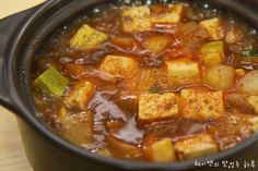 백주부의 만능된장레시피로 된장찌개 끓이니 편하네요~ – 레시피 | Daum 요리