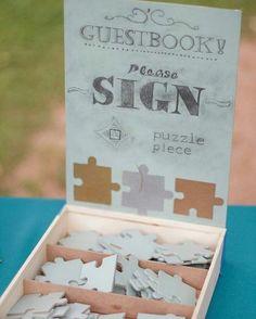 Her katılımcı bir puzzle parçasına mesajını yazar - hepsi bir araya geldiğinde kocaman bir tablo oluşur.  Diğer tarafı boş bırakılarak bir sanatçıya tamamlatılabilir, şirketin logosu oluşturulabilir vb.