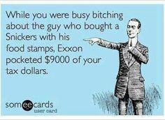Corporate welfare.