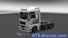 GTA V skin for Volvo FH 2012 American Truck Simulator, Gta, Volvo, Trucks, Truck