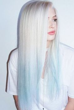 53 Platinum Blonde Hair Shades and Highlights for 2020 Blonde To Blue Ombre ❤️ Try platinum blonde hair shade if you want to stand out from the crowd. This color is so eye-catching. See our collection of platinum blonde looks. ❤️ See more: Blond Ombre, Brown Ombre Hair, Ombre Balayage, Blonde Hair Shades, Platinum Blonde Hair, Blonde And Blue Hair, Icy Blue Hair, Blonde Bobs, Ash Blonde