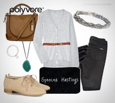 submitted by -zacharyquinto  this is definitely a Spencer Hastings outfit. I'm loving the shoes! ♥