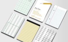 Simply Stationery double-sided business cards [moo]