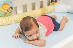 Fotografia de bebês - Heitor 3 meses - Blog - Tathi Fernandes Fotografia