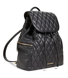 Vera Bradley Amy Quilted Leather Backpack #Dillards