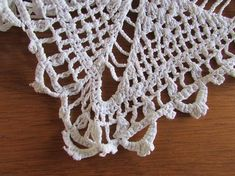 White Vintage Crocheted Runner - Rustic Crochet - White Crocheted Table Topper - Diamond Design - V Crochet Table Topper, Vintage Baby Boys, Table Toppers, Diamond Design, Vintage Table, Vintage Crochet, Shabby Chic, Rustic, Etsy