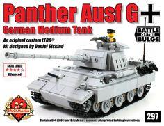 Brickmania -  Panther Ausf G (Gray) - Premium Edition Kit, $345.00 (http://www.brickmania.com/panther-ausf-g-gray-premium-edition-kit/)