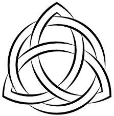 Resultado de imagem para o que significa triquetra