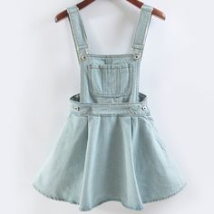 Light Denim Super Kawaii Overalls