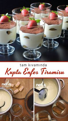 Tiramisu, Panna Cotta, Biscuits, Food And Drink, Ethnic Recipes, Desserts, Clothing, Meal, Food Recipes