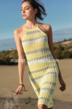 Эти модели для поклонниц летней вязаной одежды из тонкой хлопчатобумажной и шелковой пряжи.В них вы будете себя чувствовать всегда комфортно а выглядеть на любом пляжном курорте просто королевой.