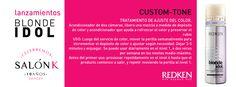 Acondicionador de dos cámaras, libera una mezcla a medida de depósito de color y acondicionador que ayuda a refrescar el color y preservar el rubio.  Salón K - Consejero Kérastase Av. Sarandi 309 , Rivera , Uruguay Tel - (00598) 46227266 Lun - Sáb: 9:00 - 19:00 info@salonk.com.uy