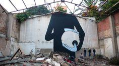 ღღ Street Art By Escif - Valenza (Spain) - Street-art and Graffiti | FatCap