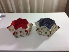 Tuto Couture Madalena - Coudre un petit panier Hexagonal - YouTube