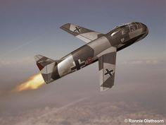 Ronnie Olsthoorn's Messerschmitt Me P.1079/51 Luft Art images