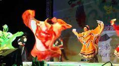 Mexico Folklore Dancing (Jalisco) Baile Folklórico (Carnaval Cancun)