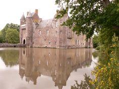 archi/ambiance - chateau trecesson broceliande