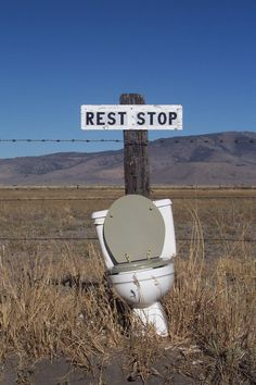 Redneck Rest Stop  Humor for today, Courtesy of the Recipe for Success Club  http://recipes.simplesite.com