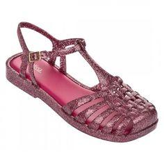 9b9c8c061f Melissa Aranha Quadrada 31953 Gliter Vidro Doch Pink Rosa