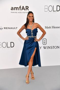 Joan Smalls - The Dreamiest Dresses on the 2017 Cannes Red Carpet - Photos