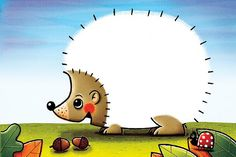 Autumn DIY Worksheet; Decorate the Hedgehog with thing you find like:  Leaves, Seeds, Pieces of Pinecone ........and more :-D