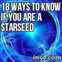 Being a Star Seed doesn't mean that we are anymore, or less, special than someone who is an incarnated angel. It just gives you a bit more understanding of why and who you are.
