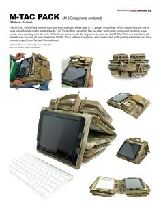 tactical tablet case - Google Search Tactical Wear, Tactical Life, Tactical Survival, Survival Gear, Survival Skills, Cool Tactical Gear, Airsoft, Molle System, Military Gear