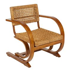 BoBo Intriguing Objects Aurora Woven Chair | Chairs & Chaises | Living Room | Furniture | Candelabra, Inc.