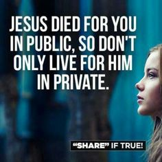 Sooooooooo True !As Christians we should live for Jesus and not worry what others will think!!!