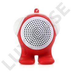 Cartoon Doll (Röd) Bluetooth-Högtalare