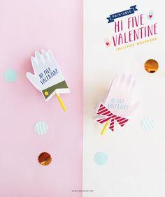 Hi Five Valentine on A Subtle Revelry