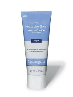 """SKIN NEUTROGENA HEALTHY SKIN ANTI-WRINKLE CREAM SPF 15  $14.69  """"A retinol-based cream with solid research behind it,"""" says Day."""
