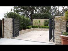 Talbot Automatic Bi-Fold Swing Gates - YouTube