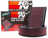 K&N Air Filters - Designed to Increase Horsepower & Acceleration - Washable/reusable filter made from cotton- may be a safer option than disposable filters that may be dusted or made from corny materials.