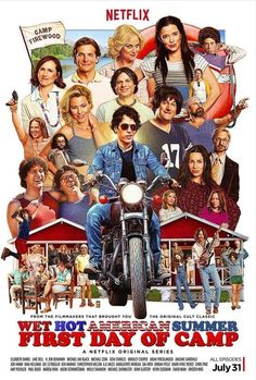 5 Things You Need for Your Wet Hot American Summer Prequel Netflix Binge