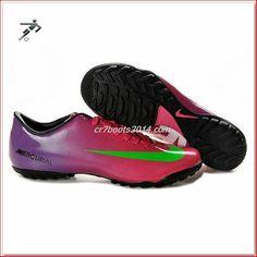 203ecda36 Football Boots Cristiano Ronaldo Nike Mercurial Victory IV Cr7 Mens Astro  Turf Trainers Futsal Pink Green Black